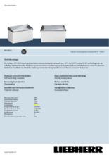 Product informatie LIEBHERR professionele vrieskist - ijsconservator EFI3553-41