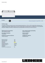 Product informatie LIEBHERR professionele vrieskist - ijsconservator EFI4853-43