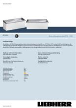 Product informatie LIEBHERR professionele vrieskist - ijsconservator EFI5653-41