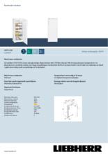 Product informatie LIEBHERR vrieskast GNP2333-20