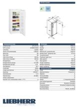 Product informatie LIEBHERR vrieskast GP3013-20