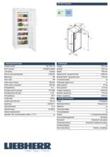 Product informatie LIEBHERR vrieskast GP3513-20