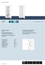 Product informatie LIEBHERR vrieskast SGN3036-22