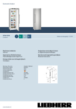 Product informatie LIEBHERR vrieskast SGNEF3036-22