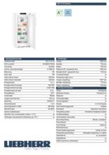 Product informatie LIEBHERR vrieskast no-frost GN4115-20