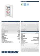 Product informatie LIEBHERR vrieskast no-frost GNP4155-20