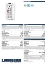 Product informatie LIEBHERR vrieskast no-frost GNP4655-20