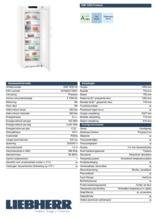 Product informatie LIEBHERR vrieskast no-frost GNP5255-20