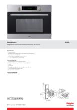 Product informatie PELGRIM combi/magnetron MAG495RVS