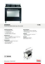 Product informatie PELGRIM fornuis antraciet NF940BANTA