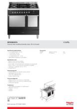 Product informatie PELGRIM fornuis antraciet NF950BANTA
