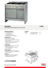 Product informatie PELGRIM fornuis rvs NF1082RVSA