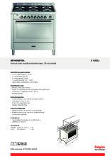 Product informatie PELGRIM fornuis rvs NF940BRVSA
