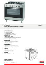 Product informatie PELGRIM fornuis rvs NF941RVSA