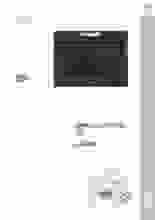 Product informatie PELGRIM oven met magnetron inbouw antraciet MAC834ANT