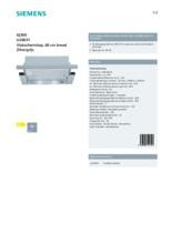 Product informatie SIEMENS afzuigkap vlakscherm LI28031