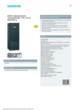 Product informatie SIEMENS koelkast blacksteel KG56FPXCA