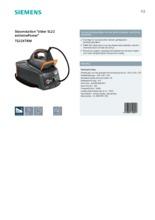 Product informatie SIEMENS stoomstrijkstation TS22XTRM