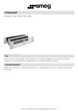 Product informatie SMEG aansluitset CFKDH12HP