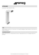 Product informatie SMEG aansluitset KITEHOBD