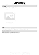 Product informatie SMEG achterwand KIT1A1PY-9