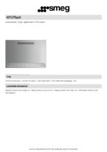 Product informatie SMEG achterwand KIT1TR41X