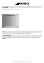Product informatie SMEG achterwand KIT1TR9X