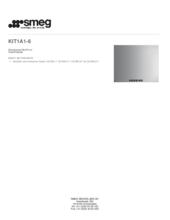 Product informatie SMEG achterwand rvs KIT1A1/6