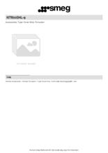 Product informatie SMEG afdekplaat KIT600SNL-9