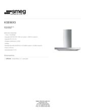 Product informatie SMEG afzuigkap rvs KSE90X3