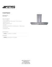 Product informatie SMEG afzuigkap rvs KSEP600X