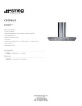 Product informatie SMEG afzuigkap rvs KSEP900X