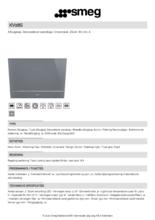 Product informatie SMEG afzuigkap wand zilver KV28S