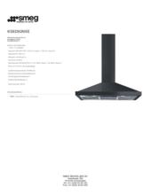 Product informatie SMEG afzuigkap zwart KSED92NXE