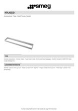 Product informatie SMEG beschermstrip KPLKSDD