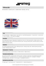 Product informatie SMEG broodrooster union jack TSF01UJEU