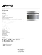 Product informatie SMEG combi-magnetron inbouw S45MCX2