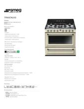 Product informatie SMEG fornuis crème TR90CNLK9