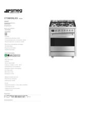 Product informatie SMEG fornuis rvs C7GMXNLK9