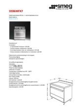 Product informatie SMEG fornuis rvs DS96MFX7