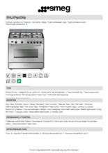 Product informatie SMEG fornuis rvs SNLKP90DX9