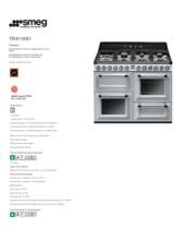 Product informatie SMEG fornuis zilver metallic TR4110S1