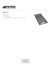 Product informatie SMEG gietijzeren grillplaat GO120
