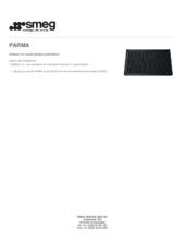 Product informatie SMEG grillplaat gietijzer PARMA