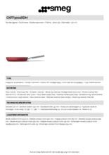 Product informatie SMEG koekenpan rood CKFF3001RDM