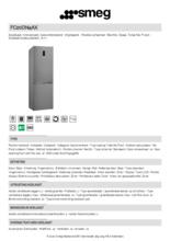 Product informatie SMEG koelkast rvs FC20DN4AX
