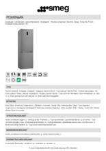 Product informatie SMEG koelkast rvs FC20EN4AX