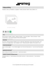 Product informatie SMEG koelkast tafelmodel roze FAB10HRPK5