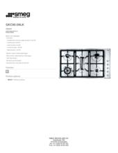 Product informatie SMEG kookplaat inbouw GKC95-3NLK