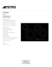 Product informatie SMEG kookplaat inductie SI3842B
